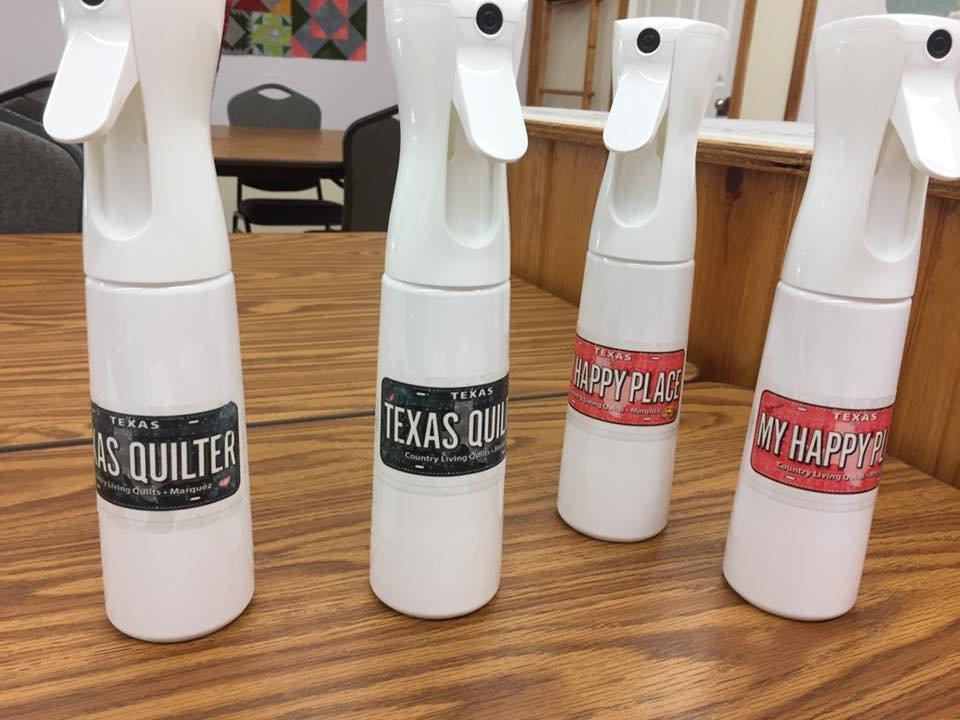 Country Mist Flairosol Spray Bottles