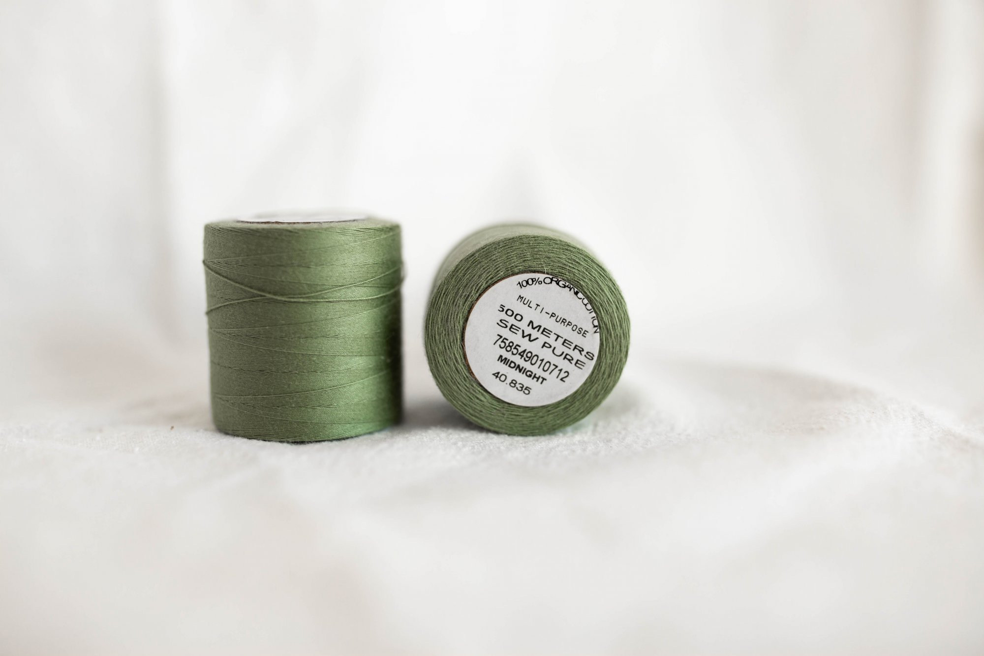 Sewpure Tex 40 All Purpose Organic Cotton Thread