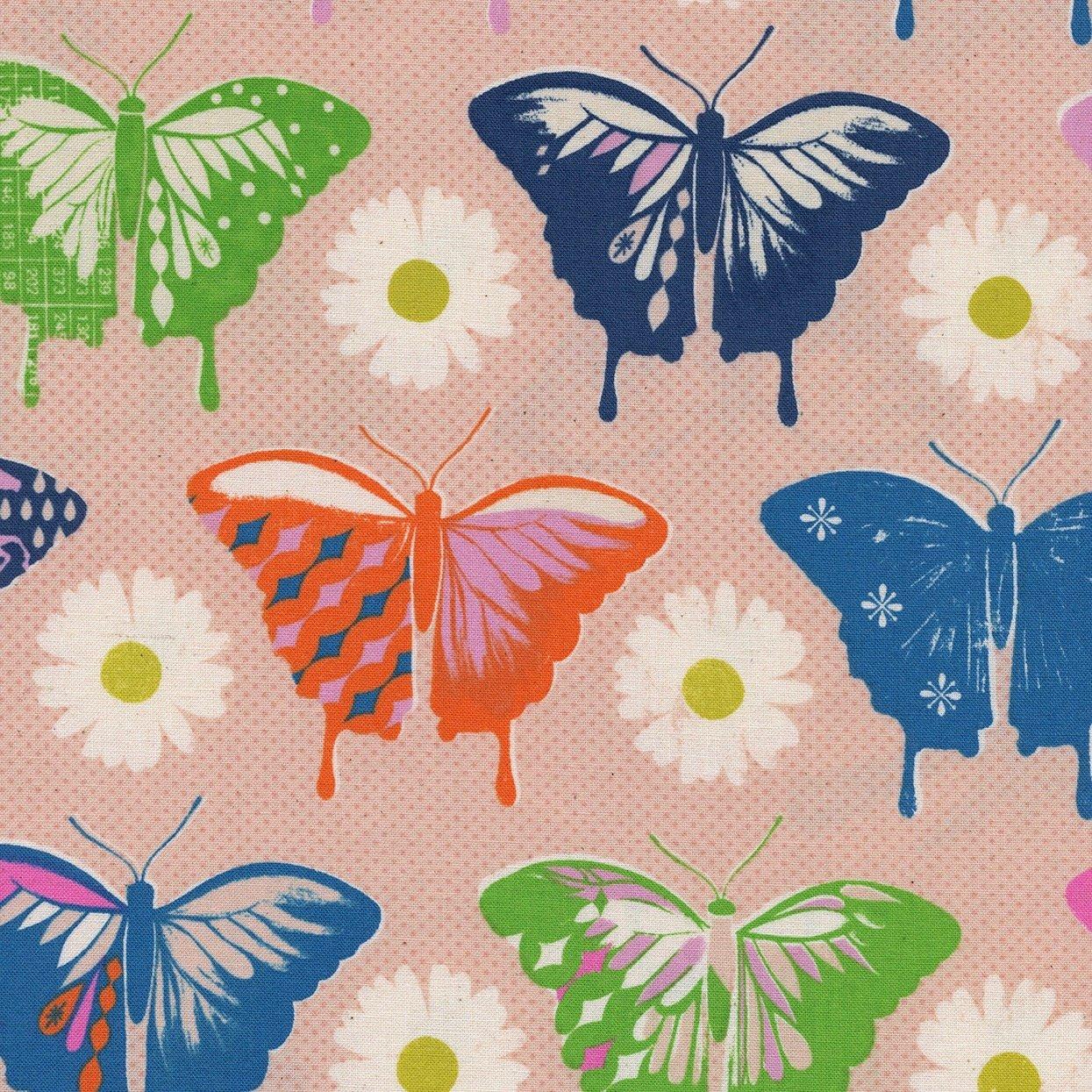 Butterflies, Peach, Flutter