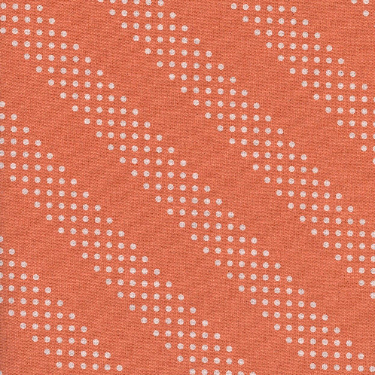 Dottie, Tangerine, Cotton and Steel Basics