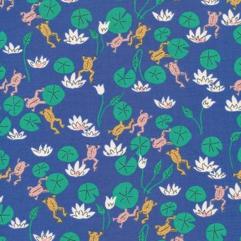 Felbrigg Frogs, Natural Beauty Organic Cotton