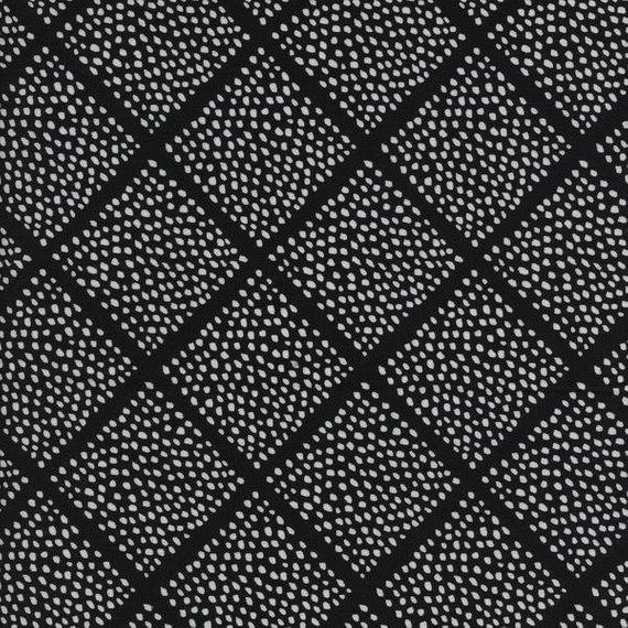 Lattice Dots, Black, Black and White 2016