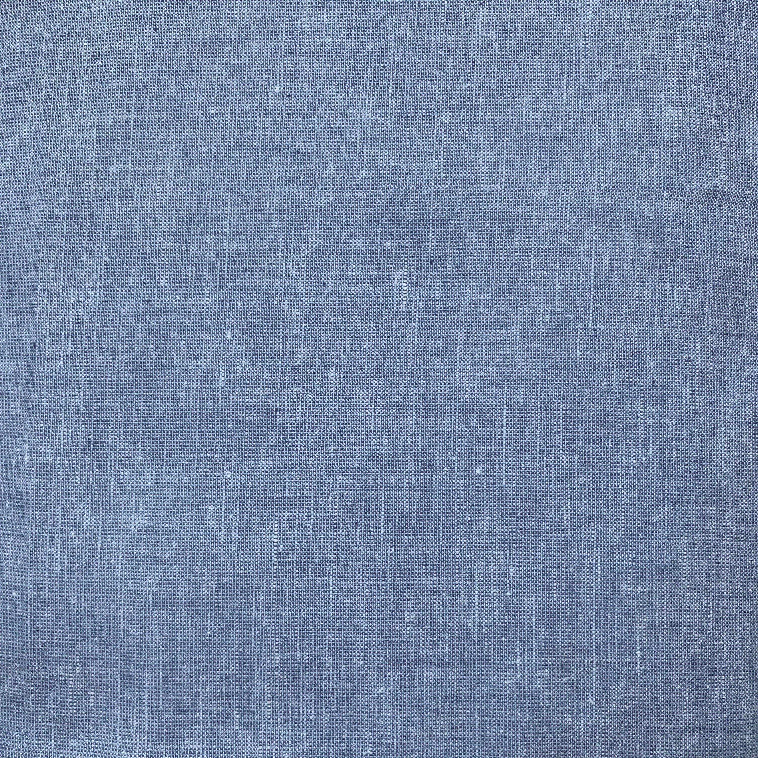 Blue, Organic Cotton Organic Linen, OCLN01
