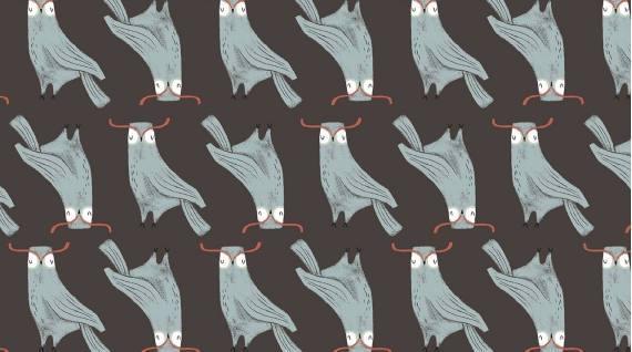 Owls, Chocolate, Folkwood Friends