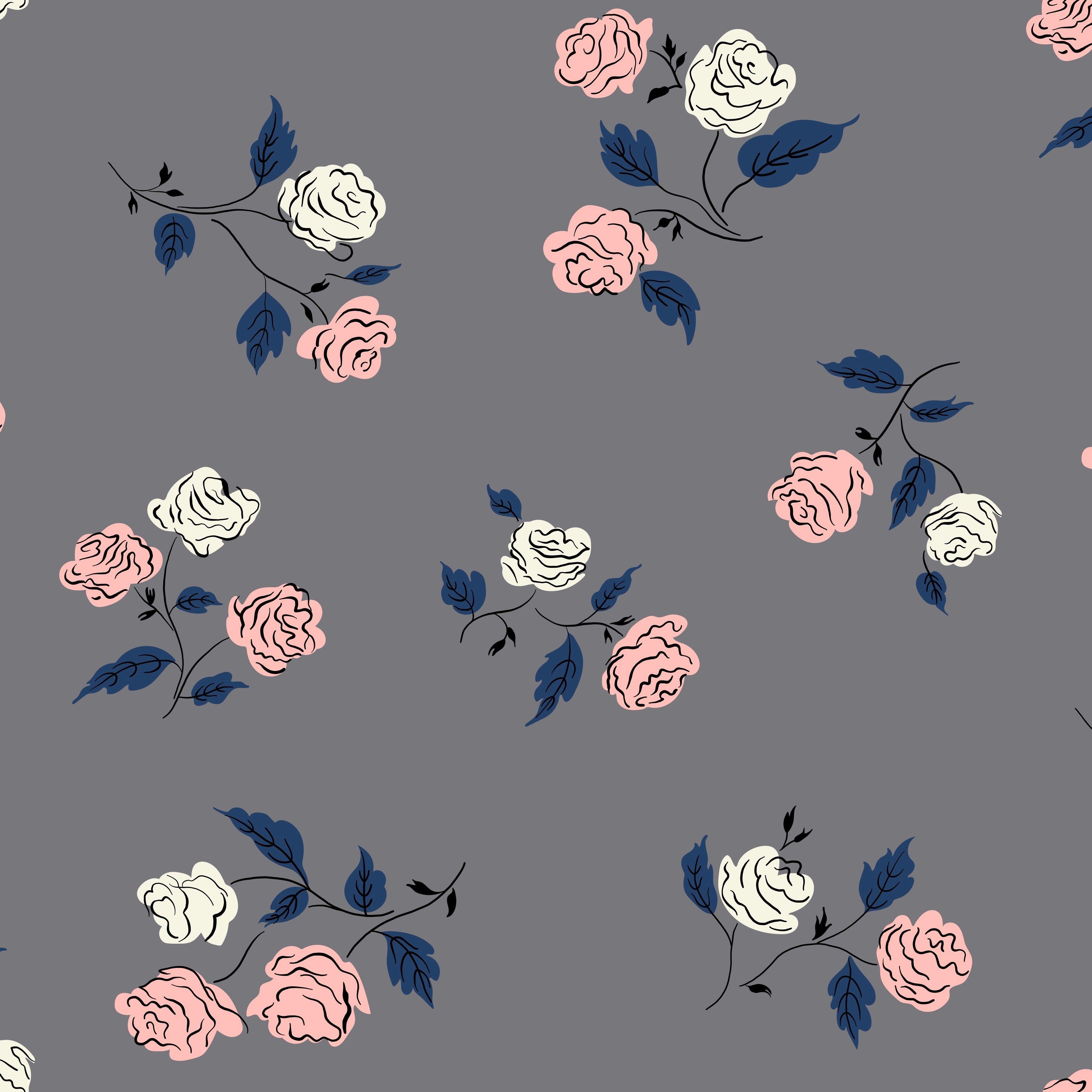Roses, Shadow, Steno Pool