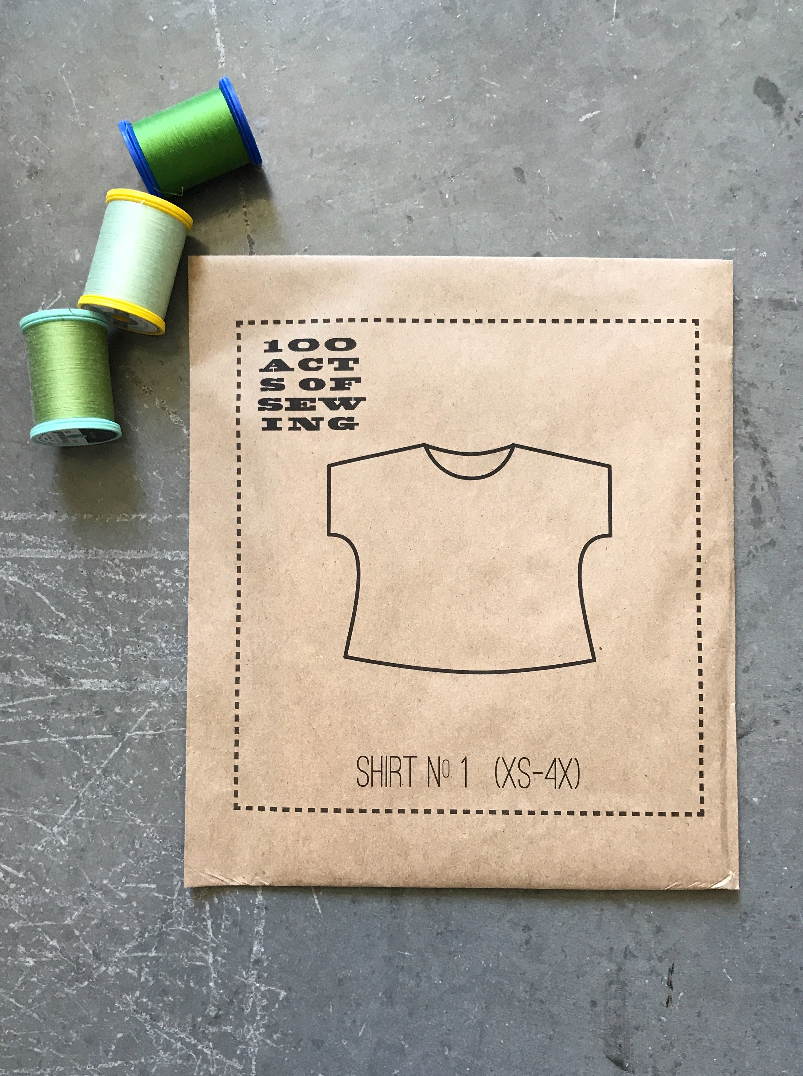 Shirt No. 1, 100 Acts of Sewing Pattern.