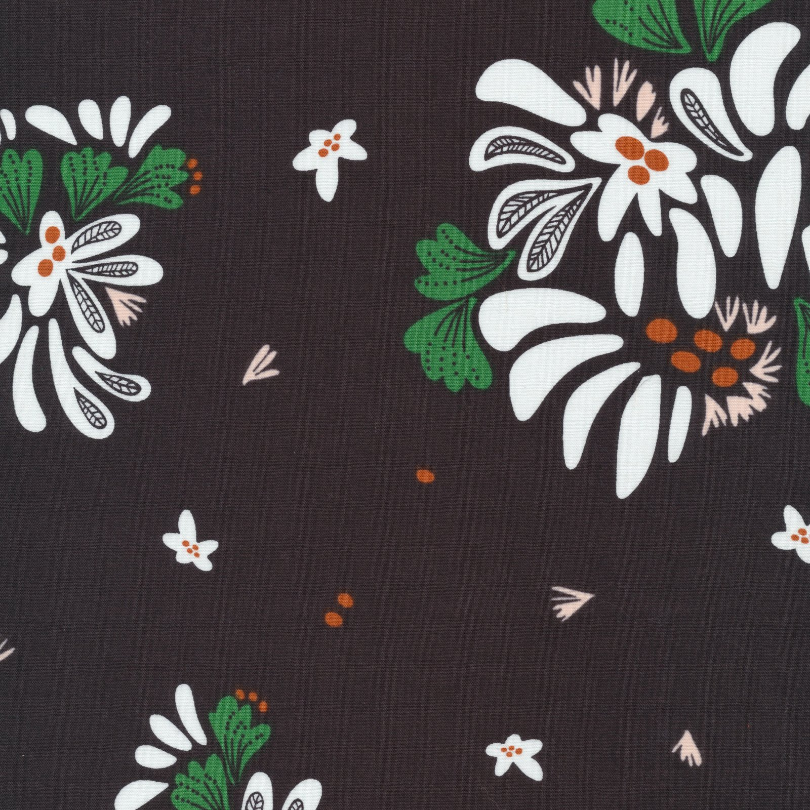Bouquet Toss, Black, Fanciful
