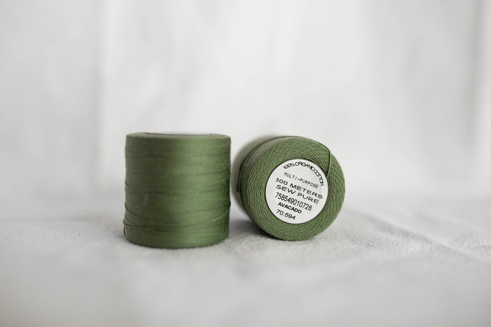 Sewpure Tex 70 Heavy Duty Organic Cotton Thread