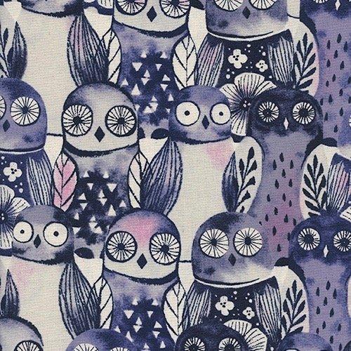 Wise Owls, Night, Eclipse