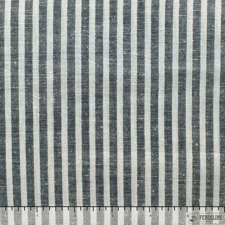 Charcoal Grey and Cream Stripe, Fair Trade