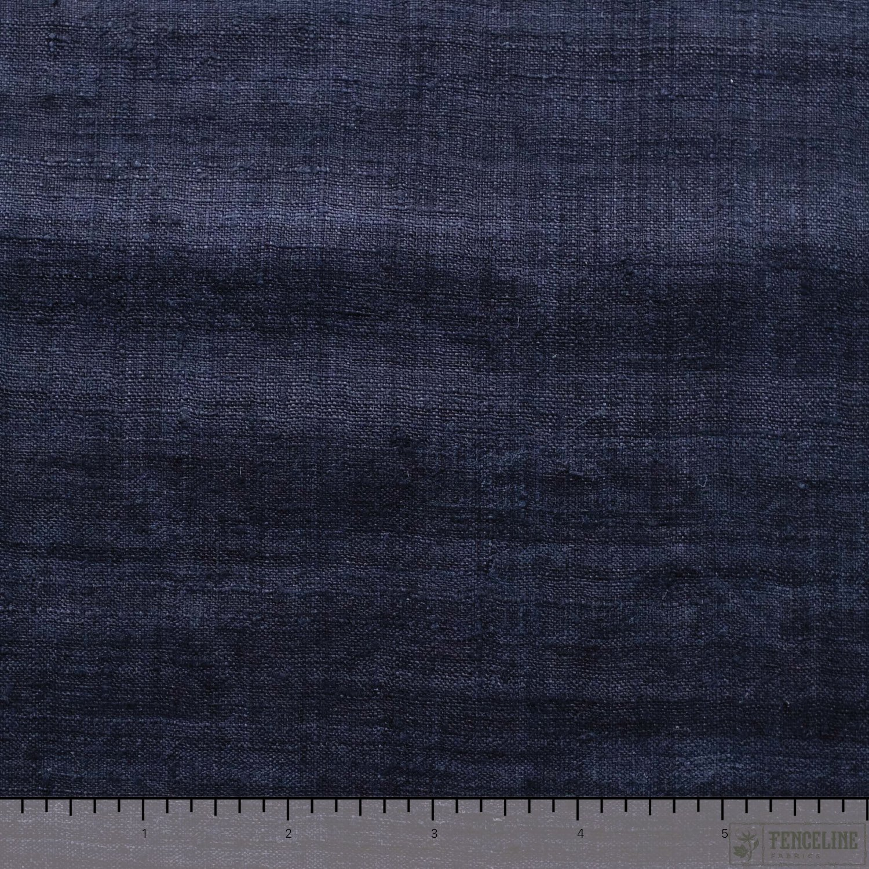 Black Textured Solid, Cotton/Silk Blend, Fair Trade
