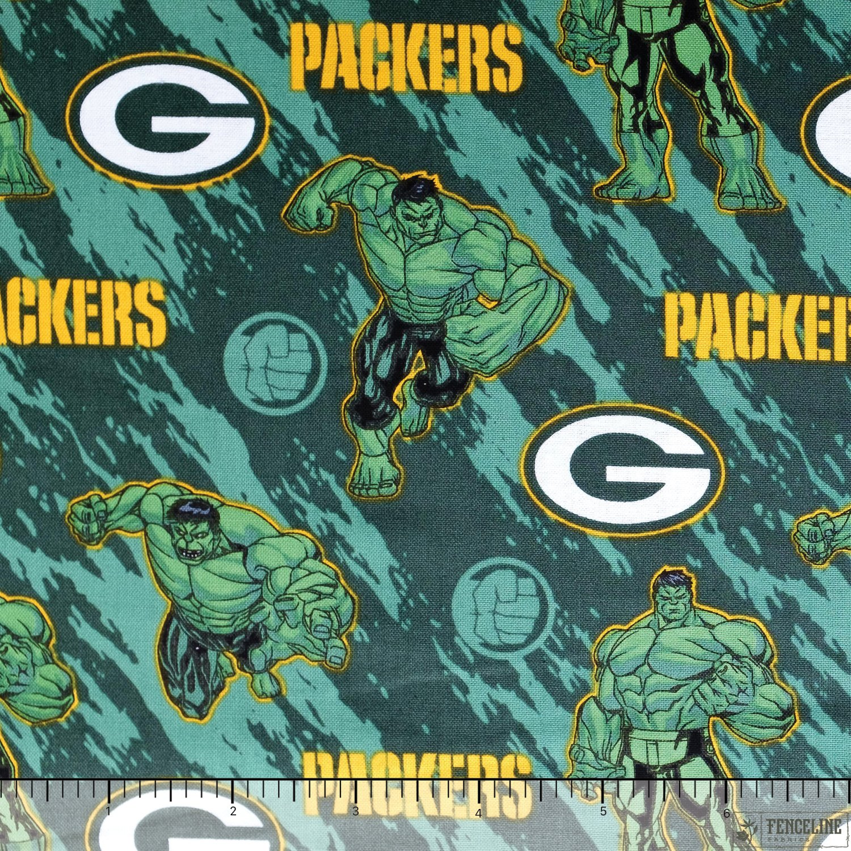 NFL Marvel Hulk Green Bay Packers