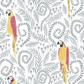 Birds in Paradise, White, Pura Vida