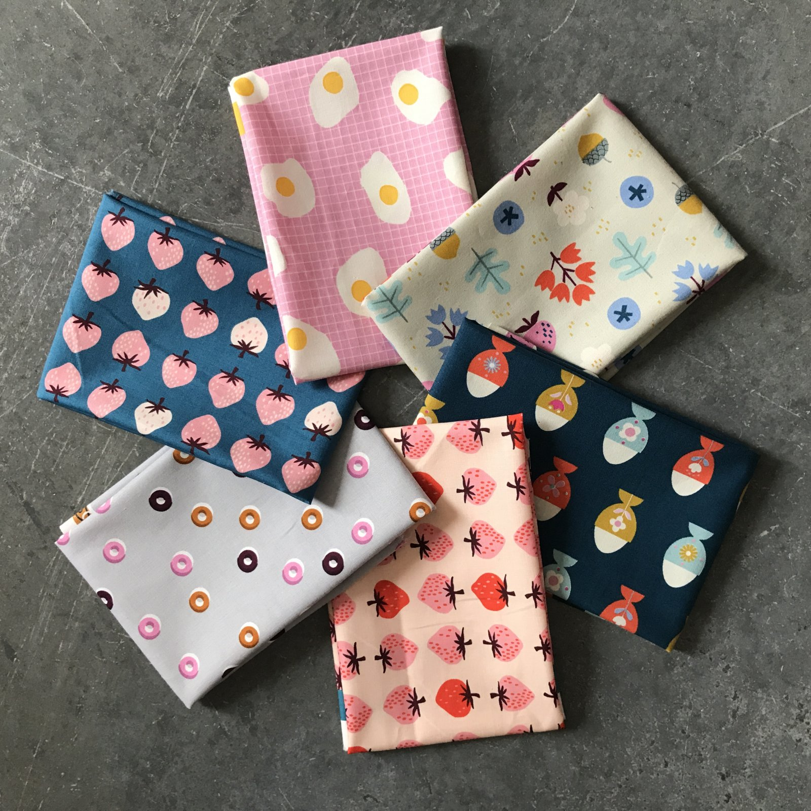 Miss Fin's Breakfast Fat Quarter Bundle