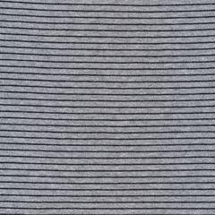Little Stripes Heather Gray/Black Organic Cotton Jersey