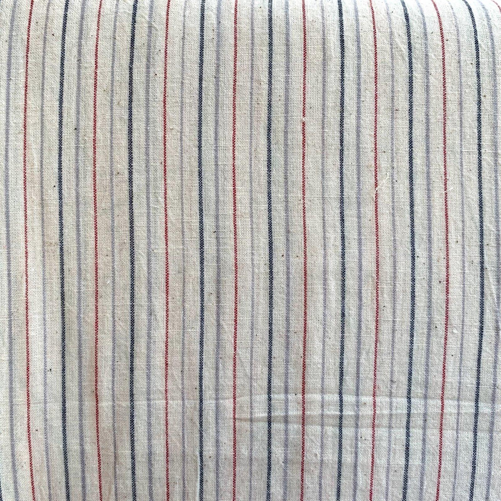 Red, Grey, Navy Stripes, Fair Trade