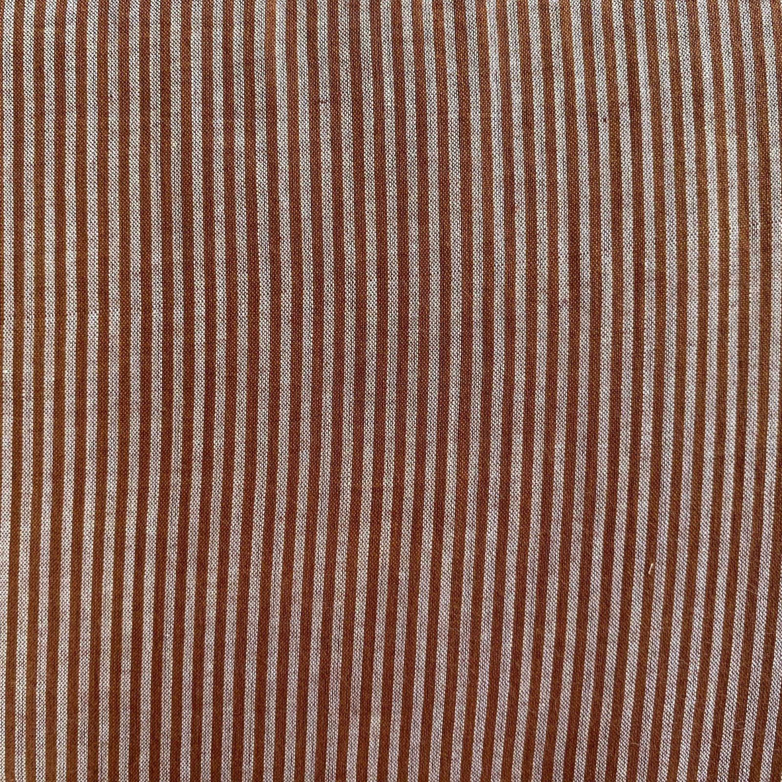 Rust and Cream Stripe, Fair Trade