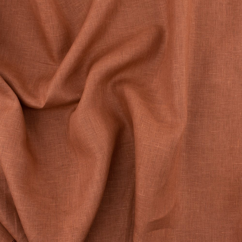 Organic Solid Linen, Apricot Brandy, Birch