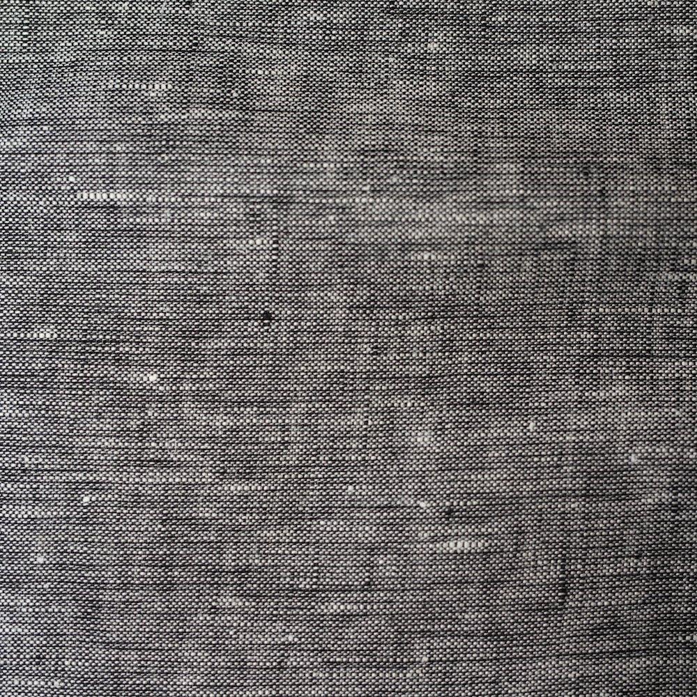 Organic Yarn Dyed Linen, Spacedust, Birch