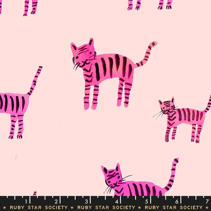 Tiger Stripes, Hot Pink, Darlings