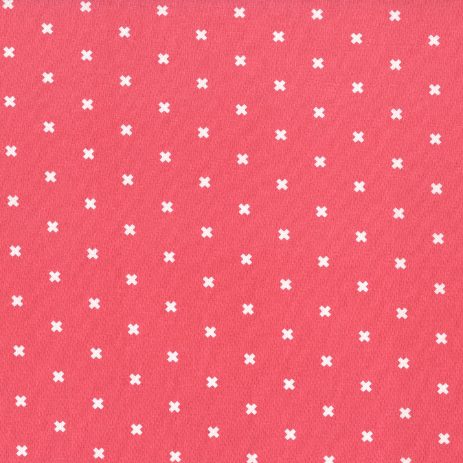 XOXO, Pink Cheeks, Cotton and Steel Basics