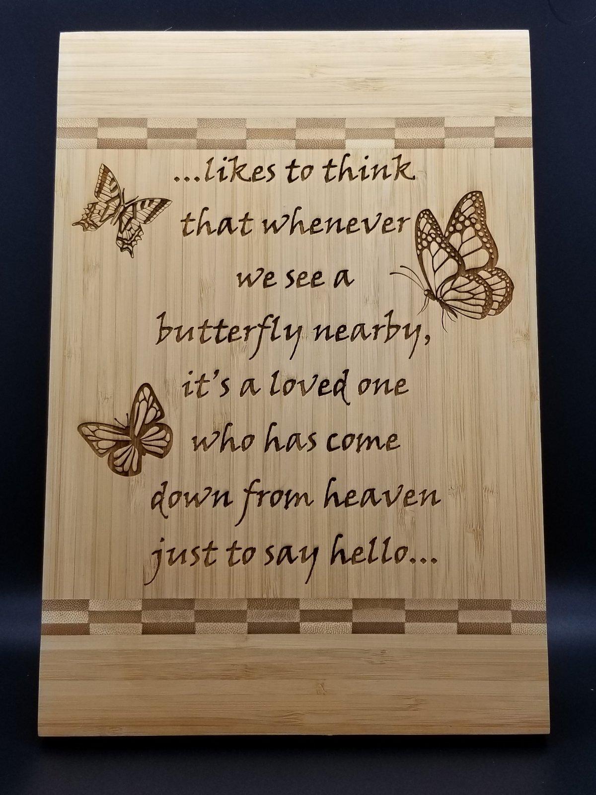 Butterfly Cuttingboard