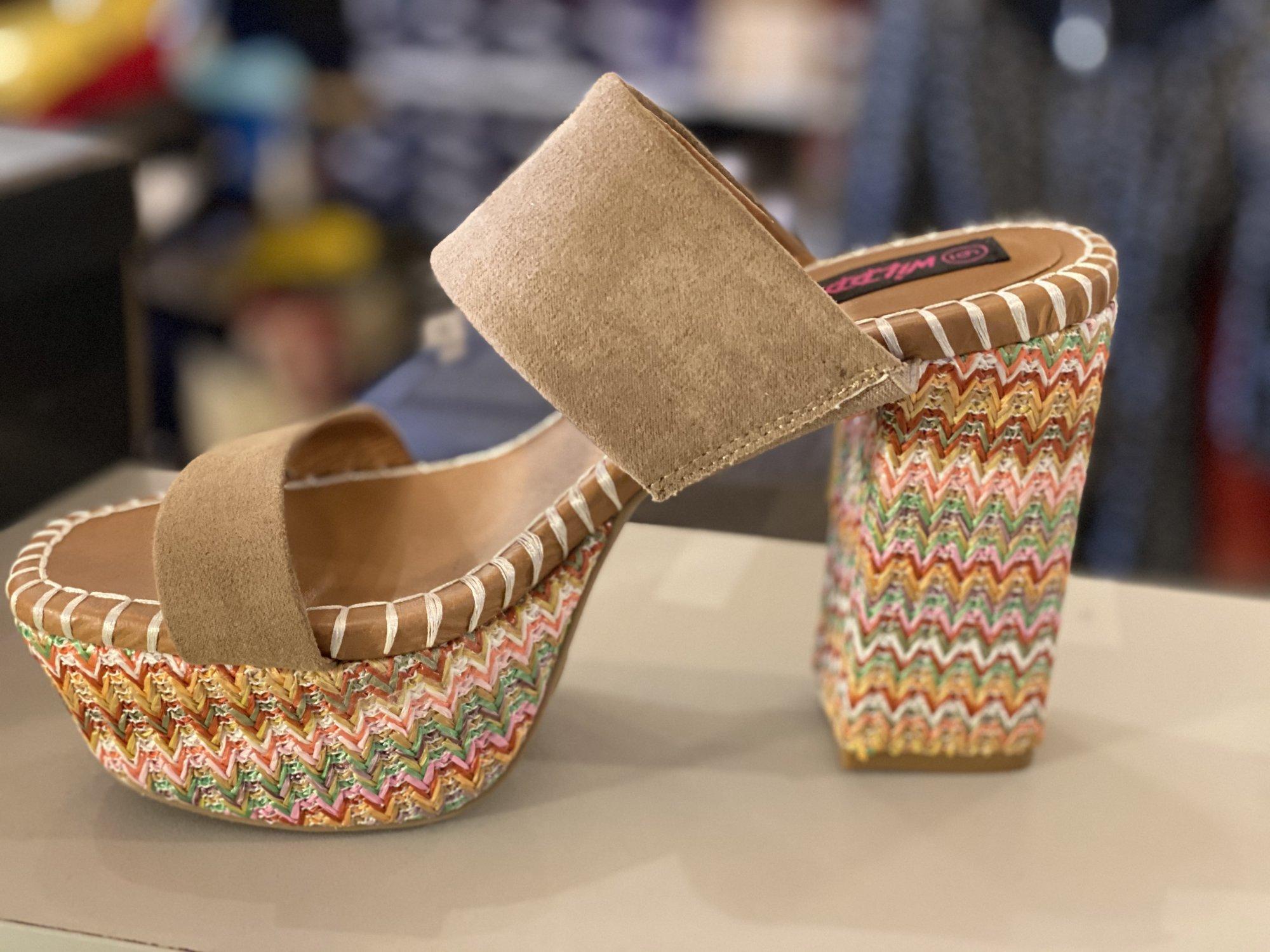 wild diva summer shoe