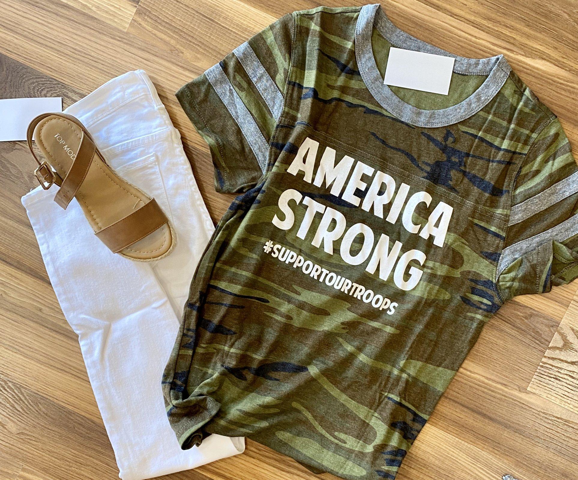 AMERICA STRONG CAMO
