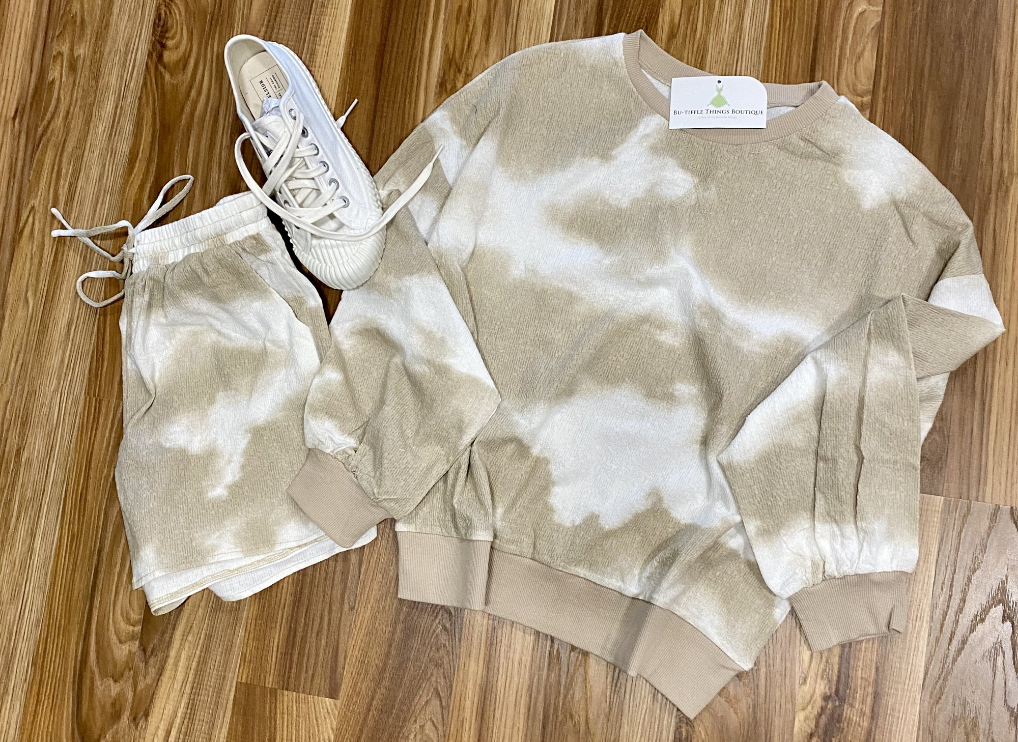 tie dye lounge taupe