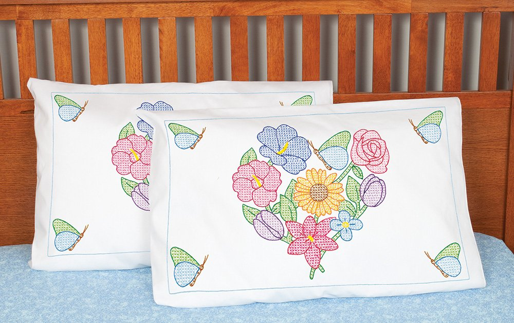 1685-PILLOWCASE SHAMS 1 pair Std - Group