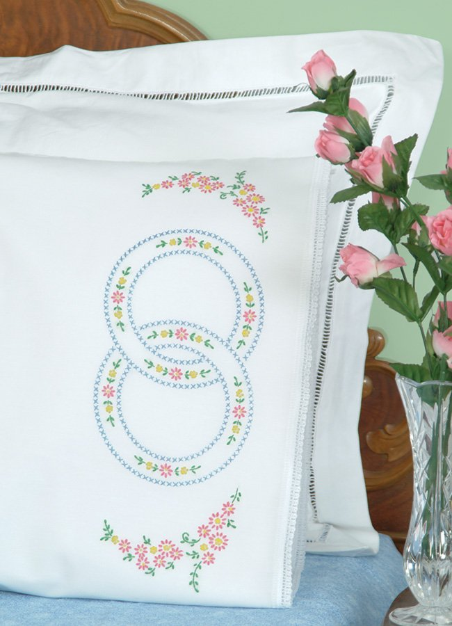 1800-PILLOWCASE WITH LACE EDGE (1 pair)-0020