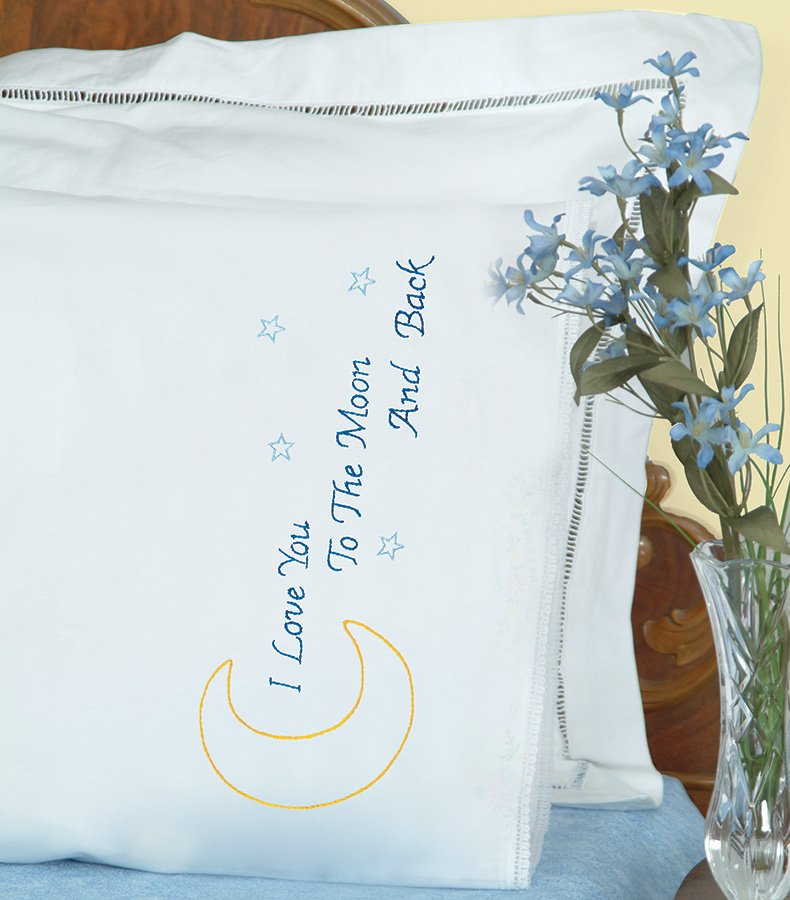1800-PILLOWCASE WITH LACE EDGE (1 pair)-0658