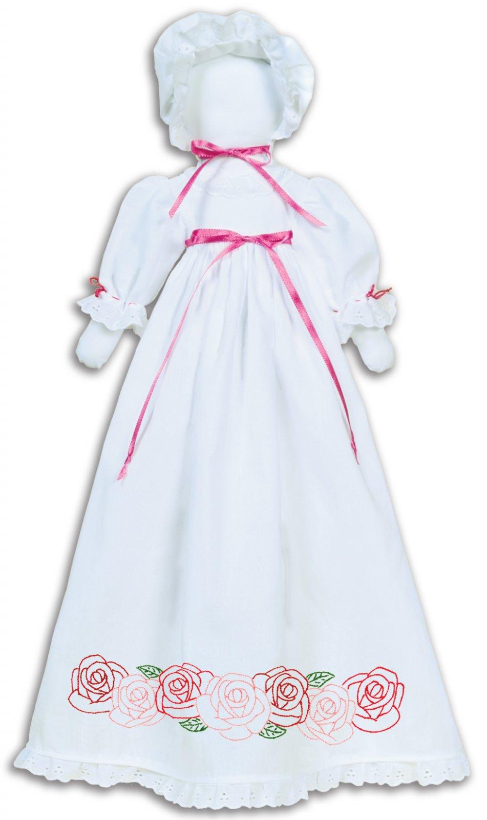 1900-PILLOWCASE DOLL KIT (Dress Bonnet Doll pieces)--0718
