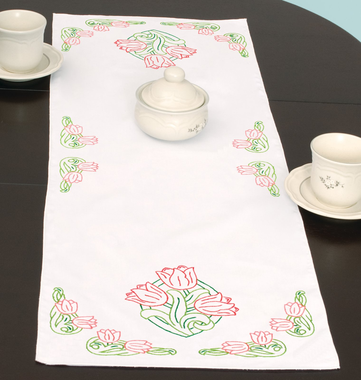 0560-TABLE RUNNER/SCARF (15 x 42)-0661