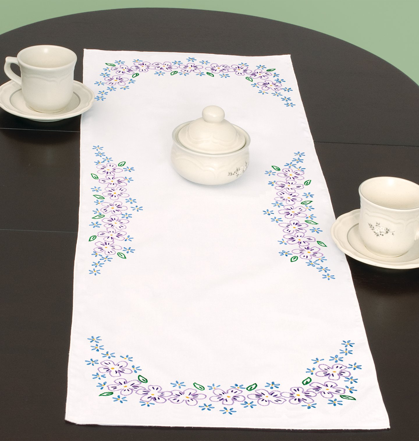 0560-TABLE RUNNER/SCARF (15 x 42)-694