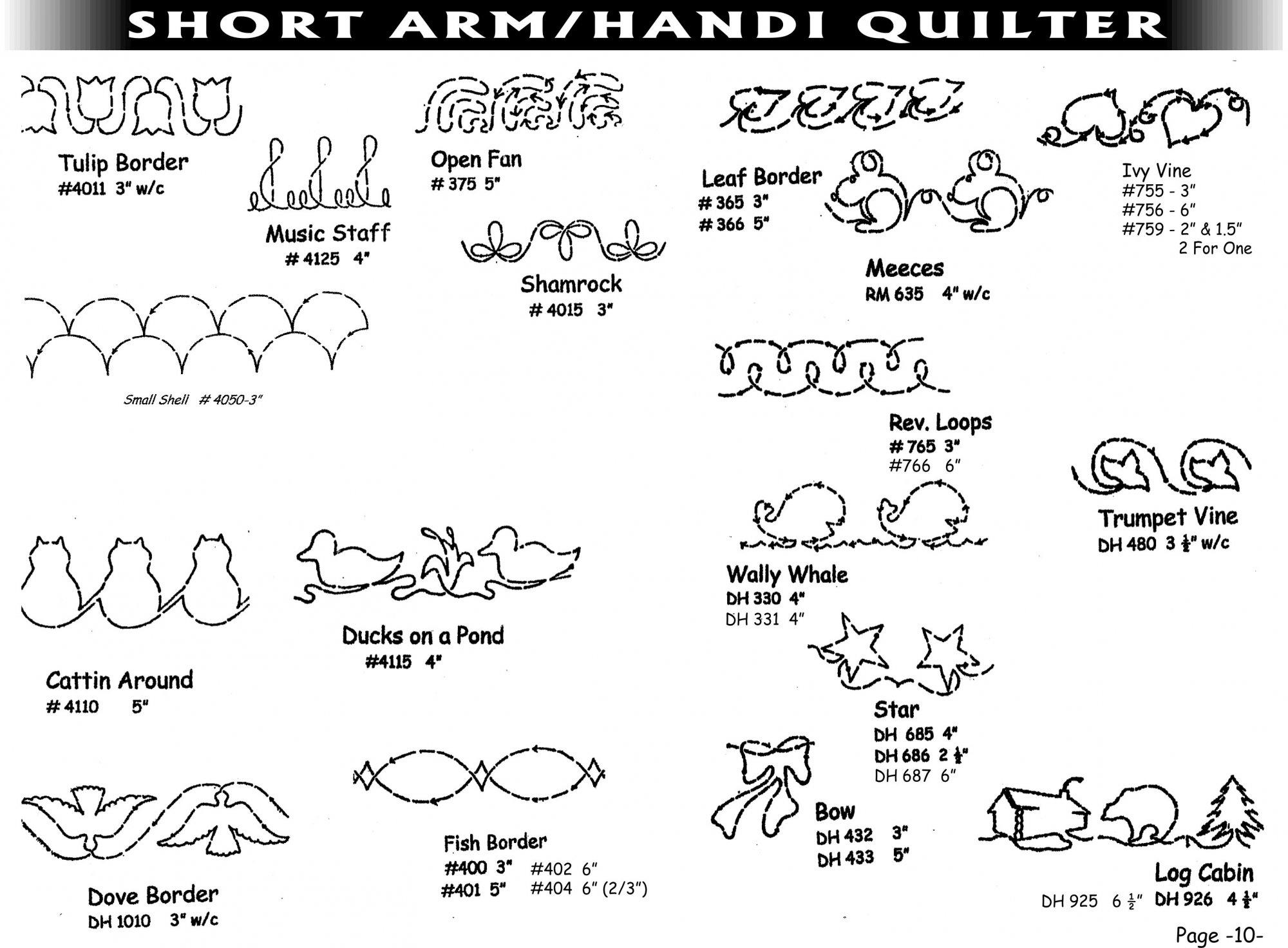 Pantographs-Short Arm-A-13-18