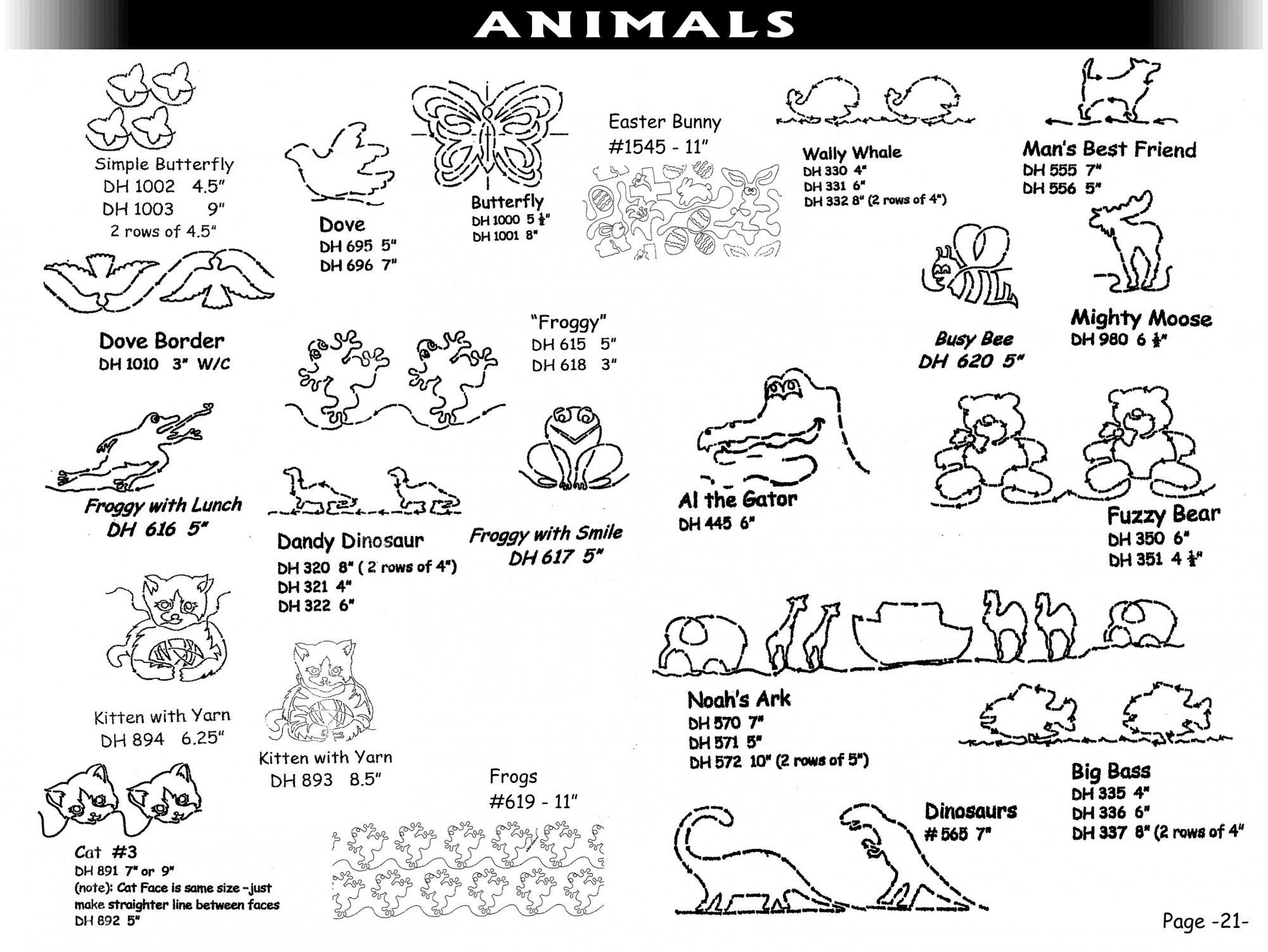 Pantographs-Animals-B- 2-6