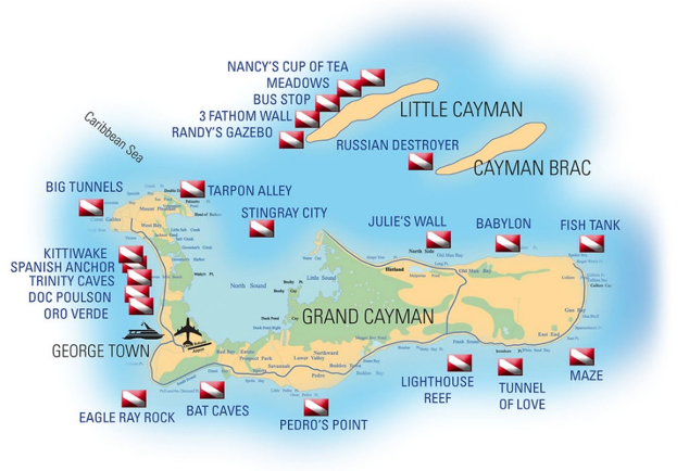 Cayman Liveaboard Trip Per Person 7 Days 2021 Jan 23-30