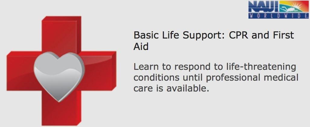 NAUI BASIC LIFE SUPPORT: CPR & FIRST AID : DIGITAL PLUS