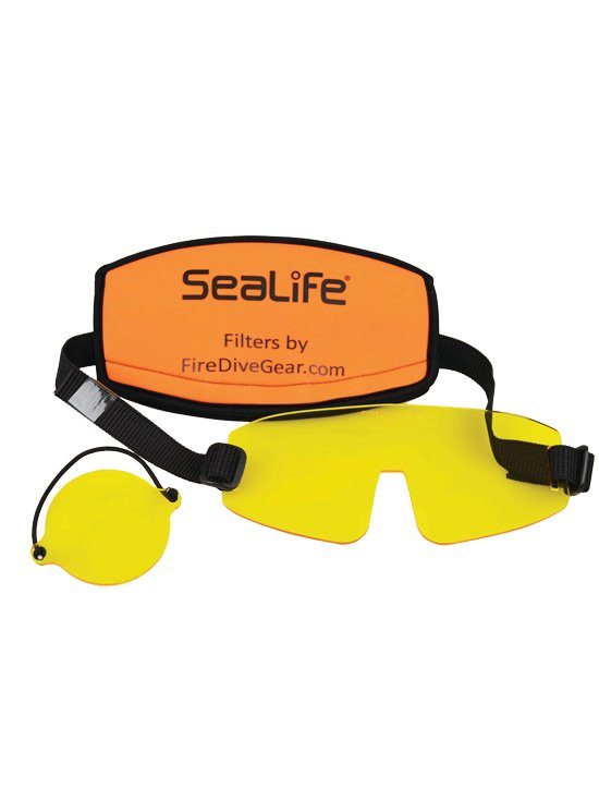 SEALIFE YELLOW MASK FILTER