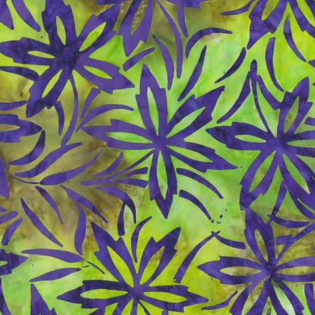 Ultra Violet Firelight Batik by Anthology