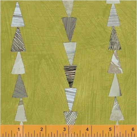 Dreamer Green Triangles