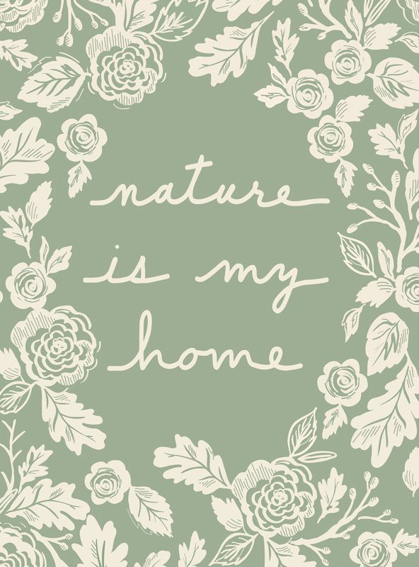NATURE QUILT PANEL BY MODA