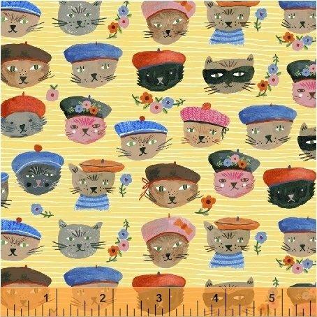 OOH LA LA Cool Cats - Yellow