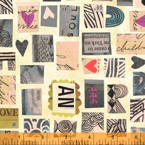 Wish Postage Stamps Cream