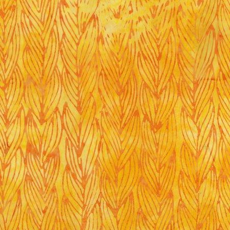 Yellow Twist Batik by Anthology