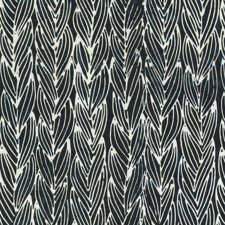 Black Twist Batik by Anthology