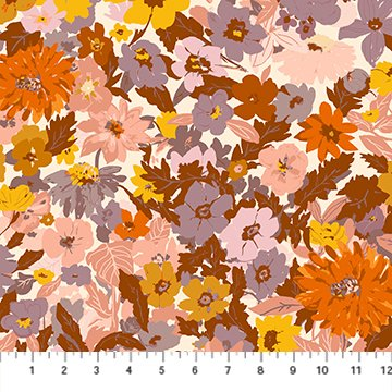 Summer's End Lilac Multi Floral