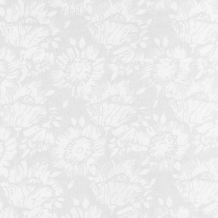 White Whispers Flowers Batik by Anthology