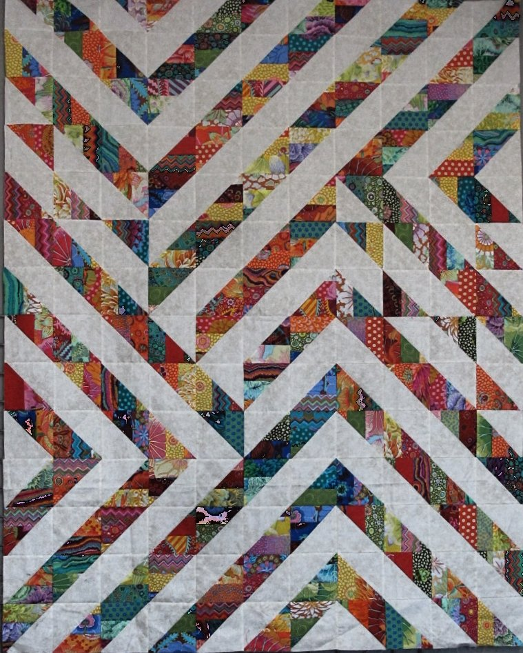 Backroads Strip Quilt Part 2 : strip quilt - Adamdwight.com